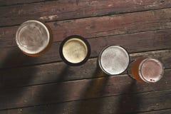 Διαφορετικά είδη της μπύρας Στοκ εικόνα με δικαίωμα ελεύθερης χρήσης