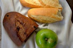 διαφορετικά είδη ψωμιού Στοκ Εικόνες