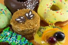 Διαφορετικά είδη κέικ Στοκ Φωτογραφία