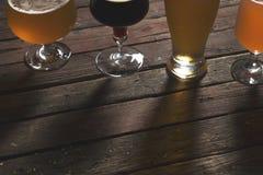 Διαφορετικά είδη μπύρας Στοκ εικόνες με δικαίωμα ελεύθερης χρήσης