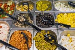 Διαφορετικά είδη antipasti Στοκ Εικόνες