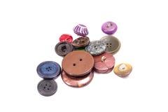 Διαφορετικά κουμπιά χαλαρά Στοκ φωτογραφίες με δικαίωμα ελεύθερης χρήσης