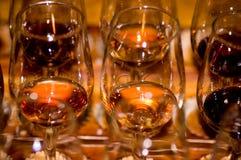 Διαφορετικά κρασί και γυαλί στοκ φωτογραφίες