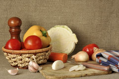 διαφορετικά λαχανικά Στοκ Εικόνα