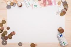 Διαφορετικά νομίσματα Στοκ Φωτογραφίες