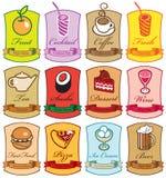 Διαφορετικά πιάτα Στοκ εικόνα με δικαίωμα ελεύθερης χρήσης