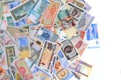 διαφορετικά τραπεζογραμμάτια χρημάτων backround στοκ εικόνες