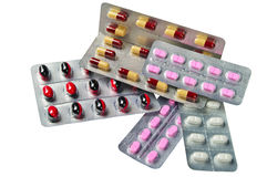 διαφορετικά φάρμακα στοκ φωτογραφίες