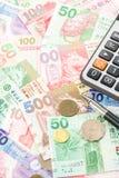 Διαφορετικά χρήματα νομίσματος Χονγκ Κονγκ Στοκ εικόνα με δικαίωμα ελεύθερης χρήσης