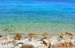 Διαφορετικές σκιές θάλασσας του μπλε Στοκ Εικόνα