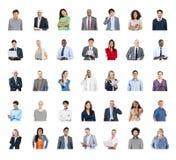 Διαφορετική έννοια τεχνολογίας παγκόσμιων επικοινωνιών ανθρώπων Στοκ Εικόνα