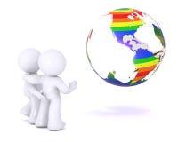 διαφορετική γήινη προσο&chi Ελεύθερη απεικόνιση δικαιώματος