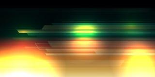 Διαφορετική περίληψη υποβάθρου χρώματος με την ψηφιακή έννοια γραμμών φωτισμού απεικόνιση αποθεμάτων