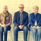 Διαφορετική περιμένοντας έννοια συνεδρίασης ομάδας ανθρώπων κοινοτική Στοκ φωτογραφίες με δικαίωμα ελεύθερης χρήσης