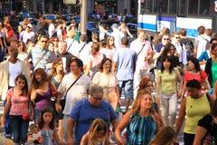διαφορετικοί άνθρωποι ε Στοκ φωτογραφία με δικαίωμα ελεύθερης χρήσης