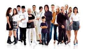 διαφορετικοί άνθρωποι Στοκ εικόνα με δικαίωμα ελεύθερης χρήσης