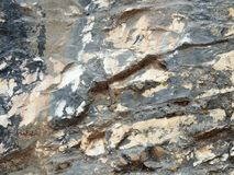 Διαφορετικοί τύποι βράχων Στοκ φωτογραφία με δικαίωμα ελεύθερης χρήσης