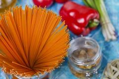 Διαφορετικοί τύποι ζυμαρικών στοκ εικόνα με δικαίωμα ελεύθερης χρήσης
