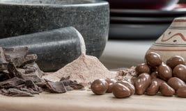 Διαφορετικοί τύποι σοκολατών Στοκ φωτογραφία με δικαίωμα ελεύθερης χρήσης
