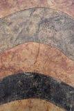 Διαφορετικός βαλμένος σε στρώσεις βράχος Στοκ Εικόνες