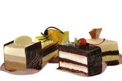 διαφορετικός καρπός κέικ Στοκ Φωτογραφία