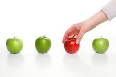 Διαφορετικό μήλο επιλογής Στοκ φωτογραφία με δικαίωμα ελεύθερης χρήσης