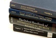 Διαφορετικό πανεπιστήμιο εκπαίδευσης νόμου βιβλίων των ανθρώπινων δικαιωμάτων eam Στοκ εικόνες με δικαίωμα ελεύθερης χρήσης