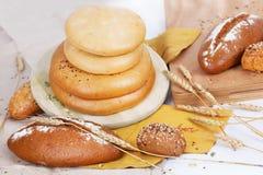 Διαφορετικό ψωμί Στοκ Εικόνες