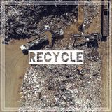 Διαχείρηση αποβλήτων ανακύκλωση Πρώτες ύλες σιδήρου που ανακυκλώνουν το σωρό, Στοκ εικόνα με δικαίωμα ελεύθερης χρήσης