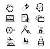 Διαχείριση ή analytics, ηλεκτρονικό εμπόριο, σχέδιο Ιστού Στοκ Εικόνες
