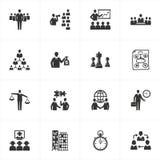διαχείριση επιχειρησιακών εικονιδίων Στοκ εικόνα με δικαίωμα ελεύθερης χρήσης