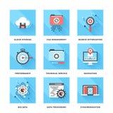 Διαχείριση δεδομένων ελεύθερη απεικόνιση δικαιώματος