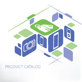 Διαχείριση καταλόγων προϊόντων Στοκ εικόνες με δικαίωμα ελεύθερης χρήσης