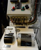 Διαχείριση στο μηχανοστάσιο του πολεμικού πλοίου & x22 Μέσω Australis& x22  Στοκ φωτογραφίες με δικαίωμα ελεύθερης χρήσης