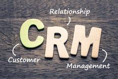 Διαχείριση σχέσης πελατών Crm στοκ φωτογραφία με δικαίωμα ελεύθερης χρήσης