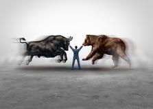 Διαχείριση χρηματιστηρίου διανυσματική απεικόνιση