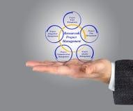 Διαχείριση Resource&Project στοκ εικόνες