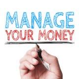 Διαχειριστείτε τα χρήματά σας στοκ φωτογραφία με δικαίωμα ελεύθερης χρήσης
