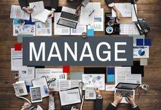 Διαχειριστείτε την έννοια στρατηγικής διαδικασίας ηγεσίας συντονισμού στοκ εικόνες με δικαίωμα ελεύθερης χρήσης