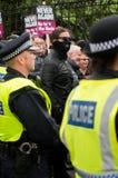 Διαδήλωση διαμαρτυρίας - Λονδίνο Στοκ εικόνες με δικαίωμα ελεύθερης χρήσης