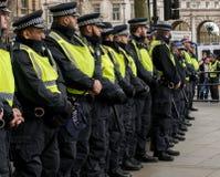 Διαδήλωση διαμαρτυρίας - Λονδίνο, UK Στοκ Φωτογραφίες