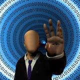 Διαδίκτυο ασφαλές διανυσματική απεικόνιση