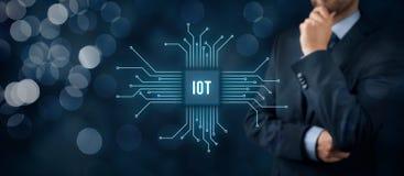 Διαδίκτυο των πραγμάτων IoT Στοκ Εικόνες
