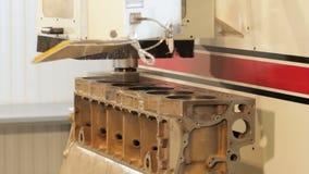 Διαδικασία επισκευής φραγμών μηχανών Εσωτερικός φραγμός μηχανών Στροφή του φραγμού μηχανών Ηλεκτρονικός τόρνος φιλμ μικρού μήκους