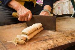 Διαδικασία μαγειρέματος Στοκ εικόνα με δικαίωμα ελεύθερης χρήσης