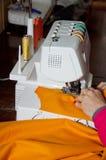 Διαδικασία ραψίματος Στοκ φωτογραφία με δικαίωμα ελεύθερης χρήσης