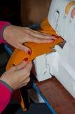 Διαδικασία ραψίματος Στοκ Εικόνες