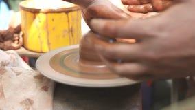 Διαδικασία την κεραμική αγγειοπλαστική απόθεμα βίντεο