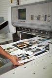 Διαδικασίες εκτύπωσης στοκ εικόνες