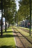 Διαδρομές του τραμ στην Αμβέρσα Στοκ φωτογραφίες με δικαίωμα ελεύθερης χρήσης